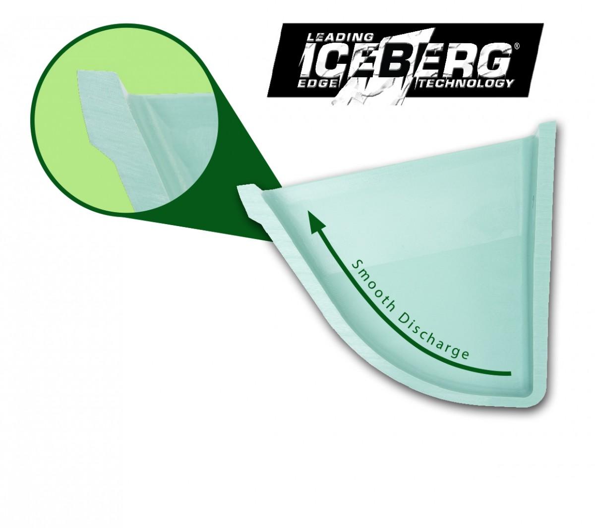 CC-S elevator bucket iceberg edge