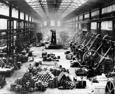 Braime - factory floor in 1920