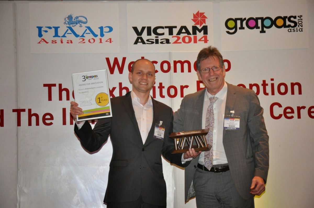 Hazardmon wins Grapas Awards 2014