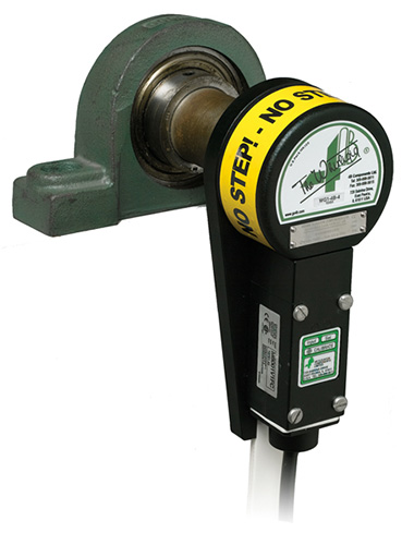 Whirligig on bearing with M800 speed switch