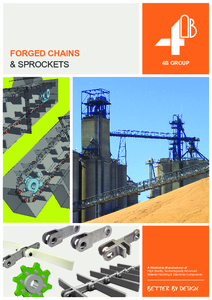 Full Line Catalogue - 4B Forged Conveyor Chains