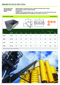 Product Datasheet - Atlas AD Buckets