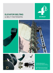 Full Line Elevator Belting Catalogue