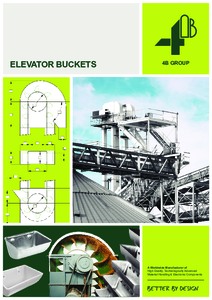 Full Line Elevator Buckets Catalogue