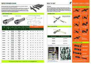 Datasheet - Bolt 'n' Go Chains
