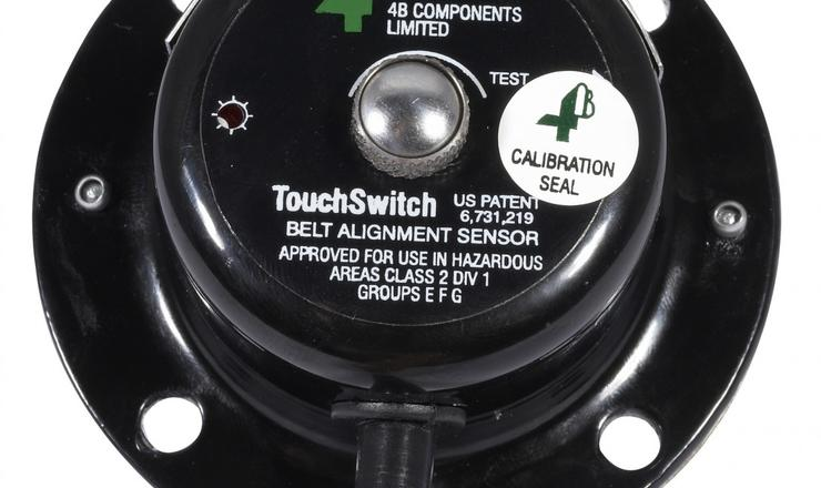 Touchswitch sensor - back view